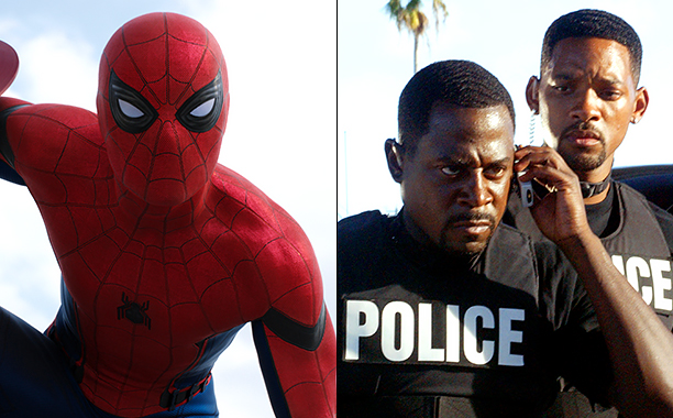 ALL CROPS: Marvel's Captain America: Civil War (2016) Spider-Man/Peter Parker (Tom Holland) CR: Marvel; Bad Boys II (2003) Martin Lawrence (L) and Will Smith CR: Robert Zuckerman