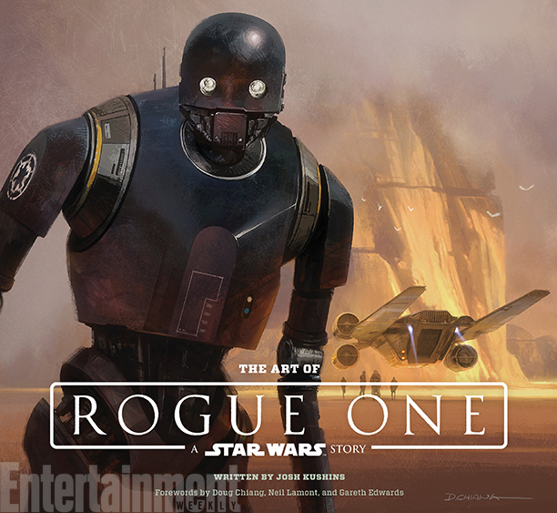 ALL CROPS: The Art of Rogue One: A Star Wars Story by Josh Kushins, and Lucasfilm Ltd. © Abrams Books, 2016 (C) 2016 Lucasfilm Ltd. And TM. All Rights Reserved. Used Under Authorization