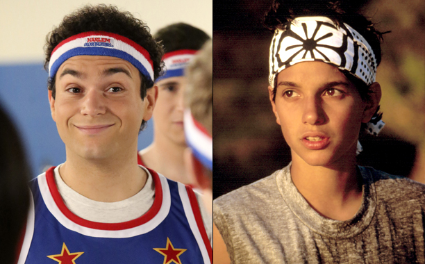 """ALL CROPS: THE GOLDBERGS - """"Globetrotters"""" - TROY GENTILE; THE KARATE KID, Ralph Macchio, 1984, (c)Columbia Pictures/courtesy Everett Collection"""