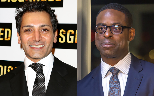 ALL CROPS: 457755666 Hari Dhillon (Photo by Walter McBride/Getty Images); THIS IS US -- Sterling K. Brown as Randall -- (Photo by: Ron Batzdorff/NBC)