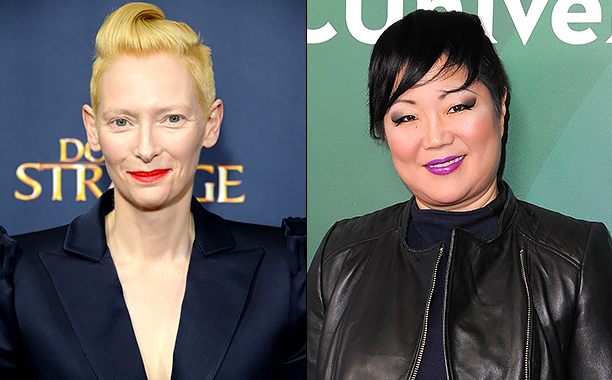 ALL CROPS: 617729044 Tilda Swinton (Photo by Anthony Harvey/Getty Images); 505011544 Margaret Cho (Photo by Angela Weiss/Getty Images)