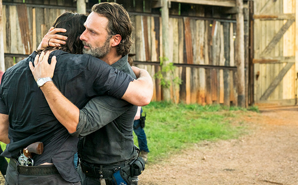 All Crops: EMBARGOED FOR DALTON 12/11 Andrew Lincoln as Rick Grimes, Norman Reedus as Daryl Dixon- The Walking Dead _ Season 7, Episode 8 - Photo Credit: Gene Page/AMC