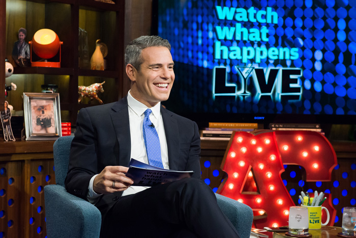 All Crops: Andy Cohen Press Photo WATCH WHAT HAPPENS LIVE -- Pictured: Andy Cohen -- (Photo by: Charles Sykes/Bravo/NBCU Photo Bank)