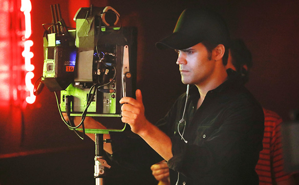 "All Crops: The Vampire Diaries -- ""Detoured on Some Random Backwoods Path to Hell"" --Image Number: VD806A_BTS_0368.jpg -- Pictured: Director Paul Wesley -- Photo: Bob Mahoney/The CW"