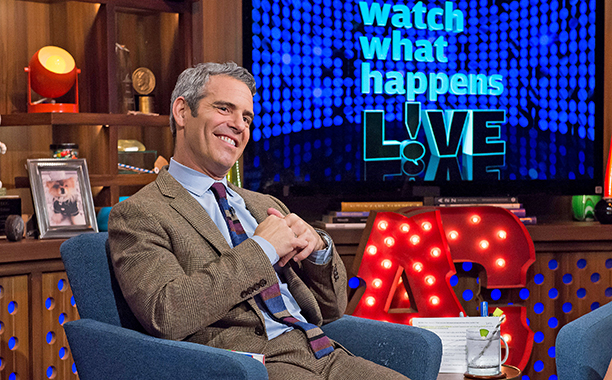 ALL CROPS: WATCH WHAT HAPPENS LIVE -- Episode 13194 -- Pictured: Andy Cohen -- (Photo by:)
