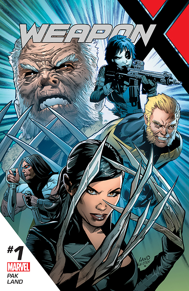 NO CROPS: Weapon X Cover CR: Marvel