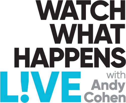 """No Crops: """"Watch What Happens Live with Andy Cohen"""" logo"""
