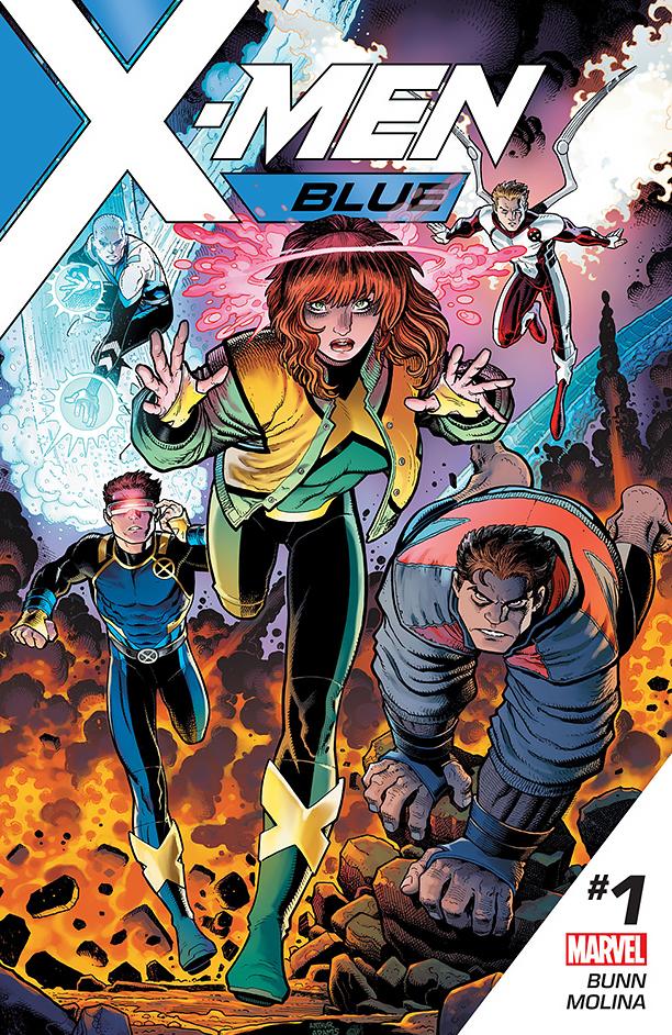 NO CROPS: X-MEN Blue Cover CR: Marvel
