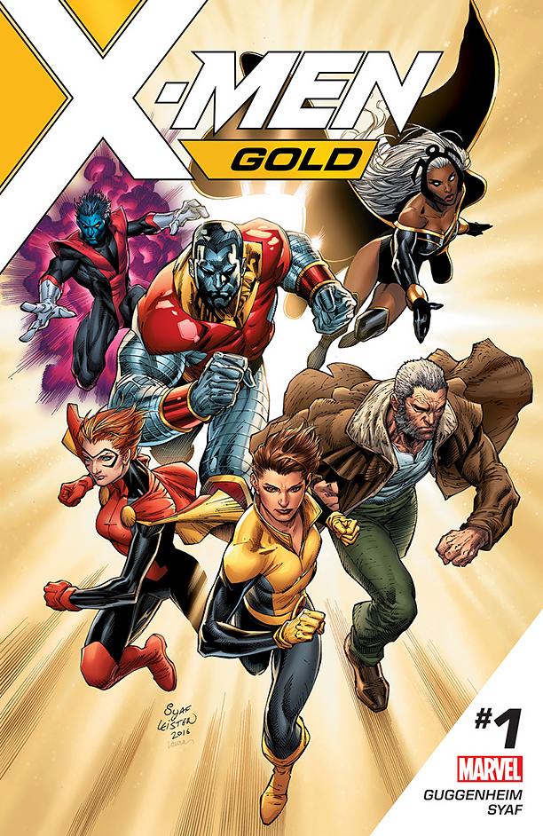 NO CROPS: X-MEN Gold Cover CR: Marvel