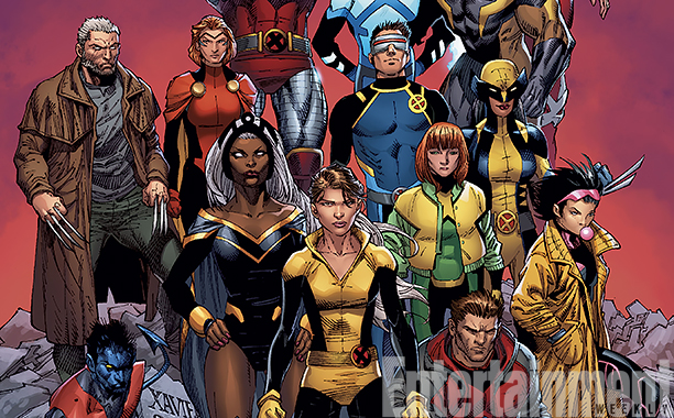 ALL CROPS: *Exclusive* TOUT: X-MEN PRIME Cover CR: Marvel