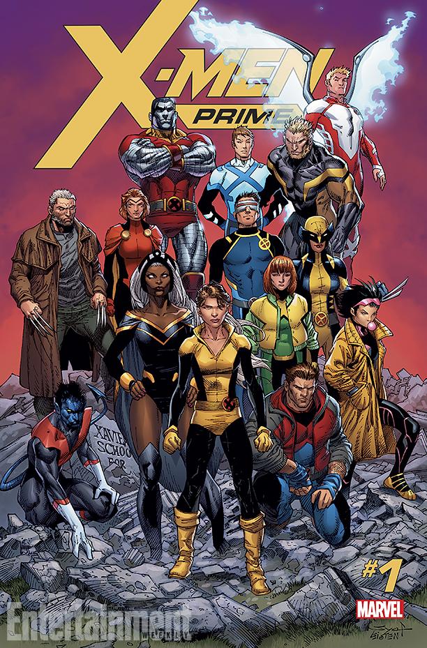 NO CROPS: *Exclusive* X-MEN PRIME Cover CR: Marvel