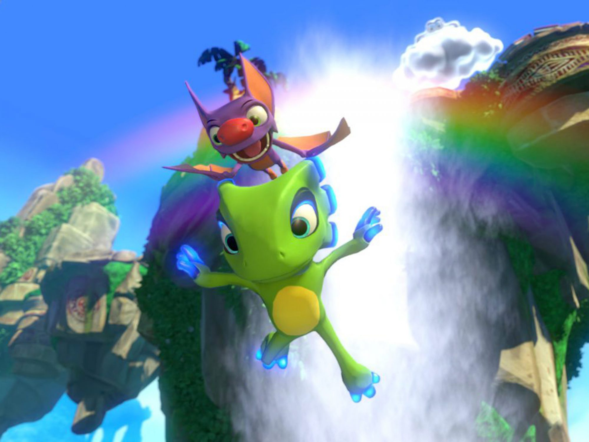 9. Yooka-Laylee (Multiplatform; April 11)