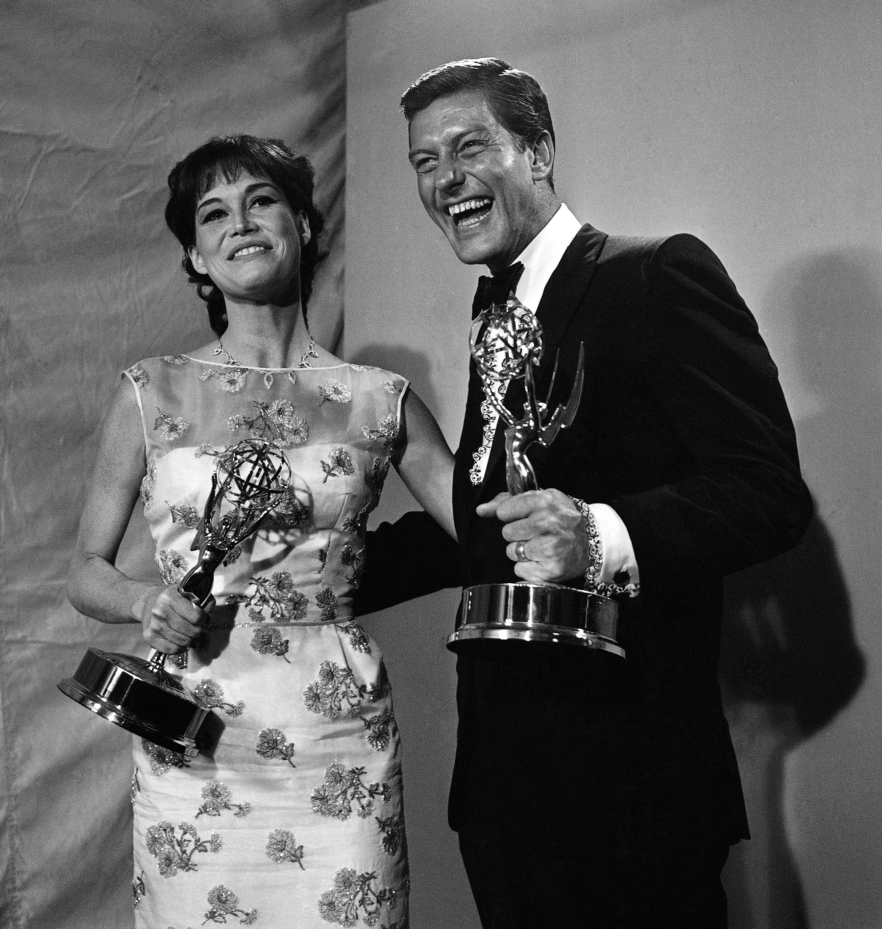Dick Van Dyke and Mary Tyler Moore 1966