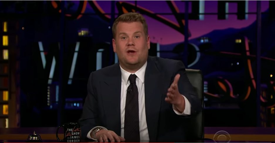 Corden talks about George Michael