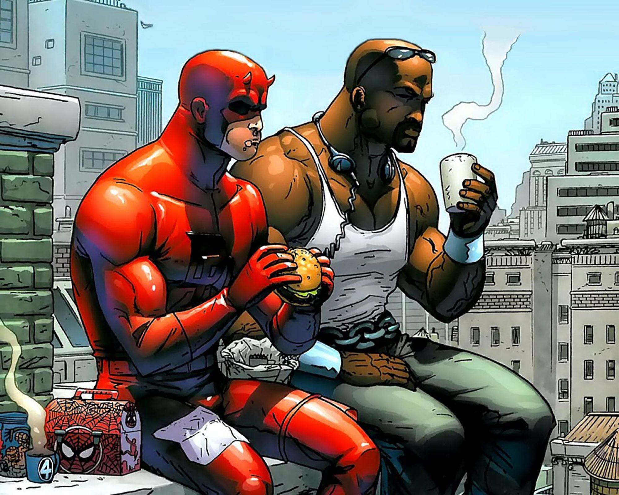 Daredevil and Luke Cage CR: Marvel