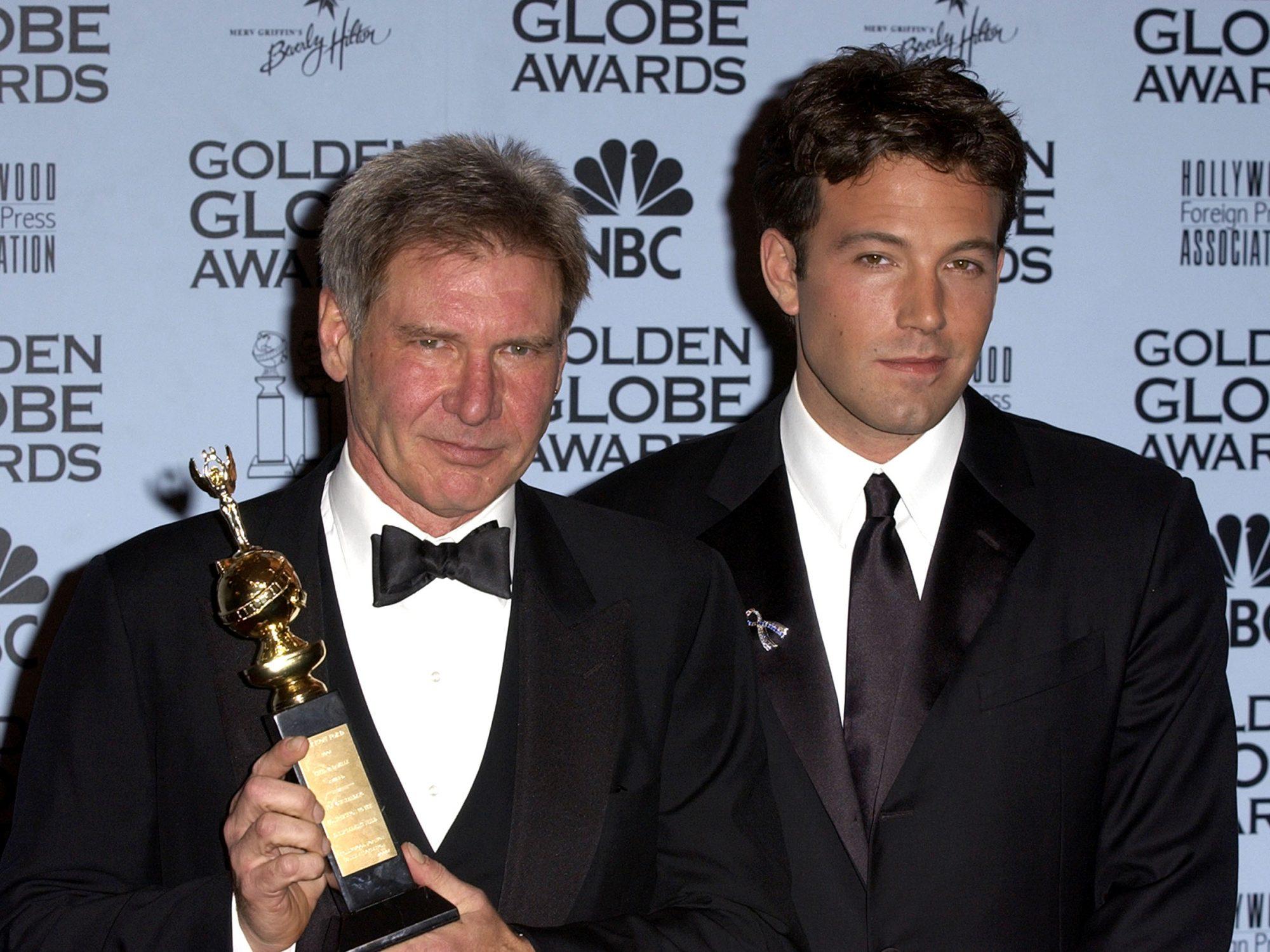The 59th Annual Golden Globe Awards - Press Room