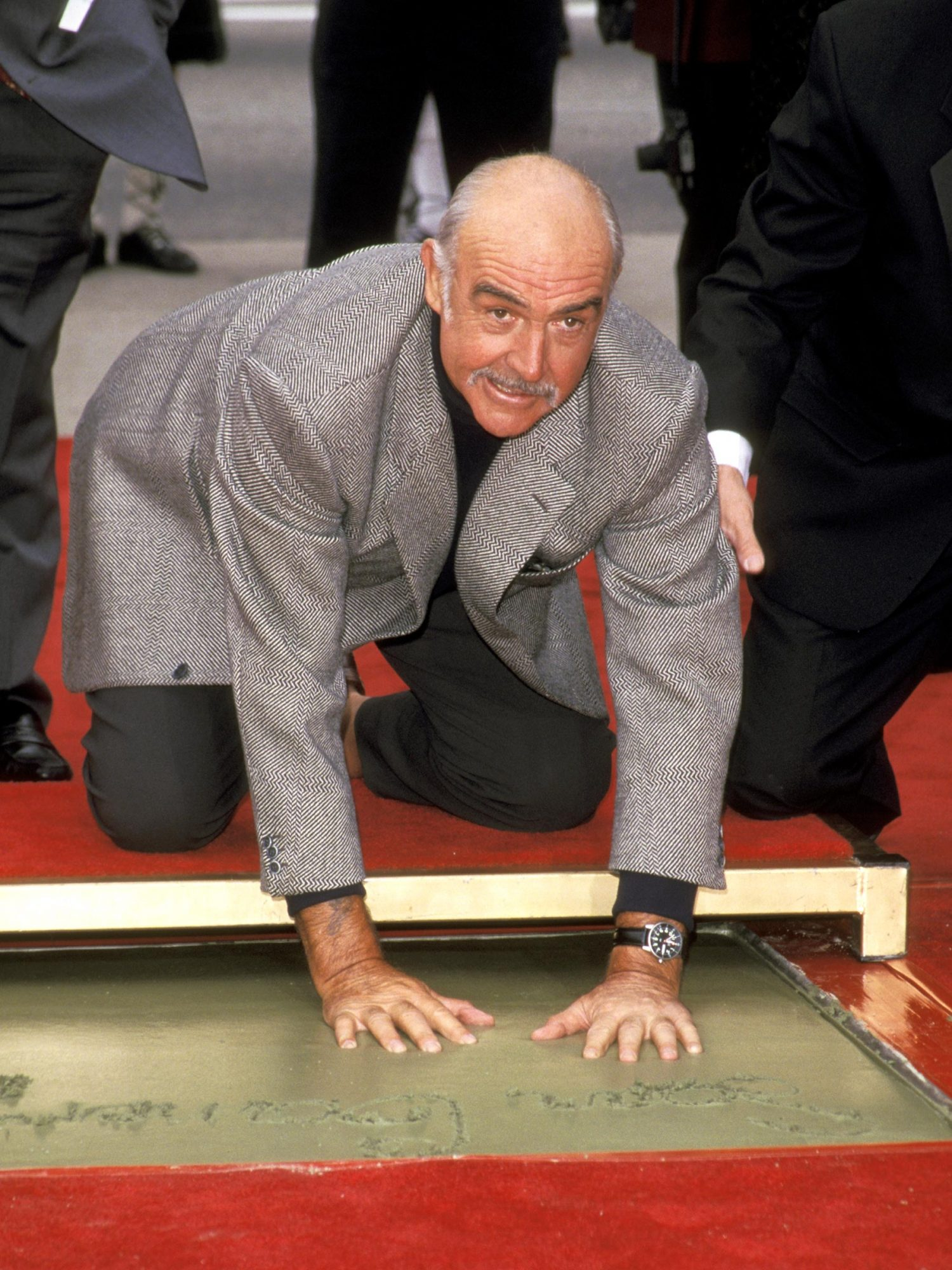 Sean Connery's Hand & Footprints Ceremony
