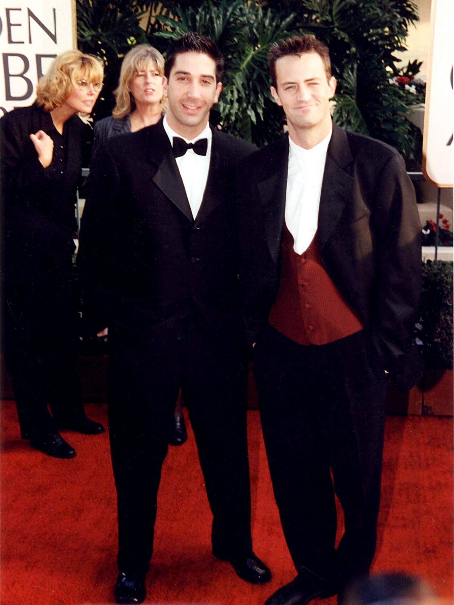 Friends' David Schwimmer and Matthew Perry