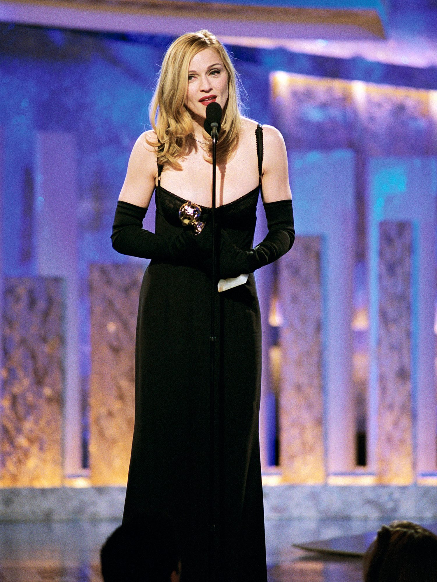 Best Actress in a Musical or Comedy Winner Madonna (Evita)