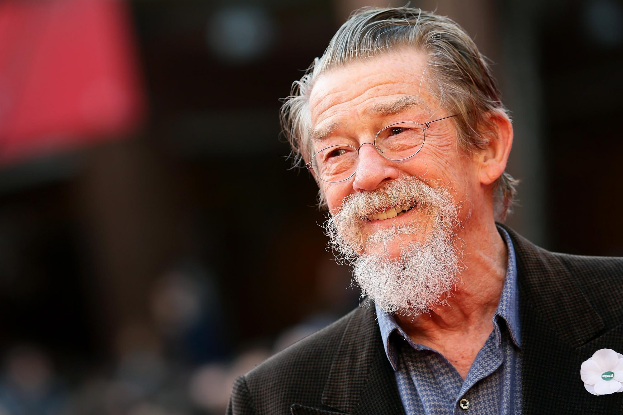 John Hurt On The Red Carpet - The 8th Rome Film Festival