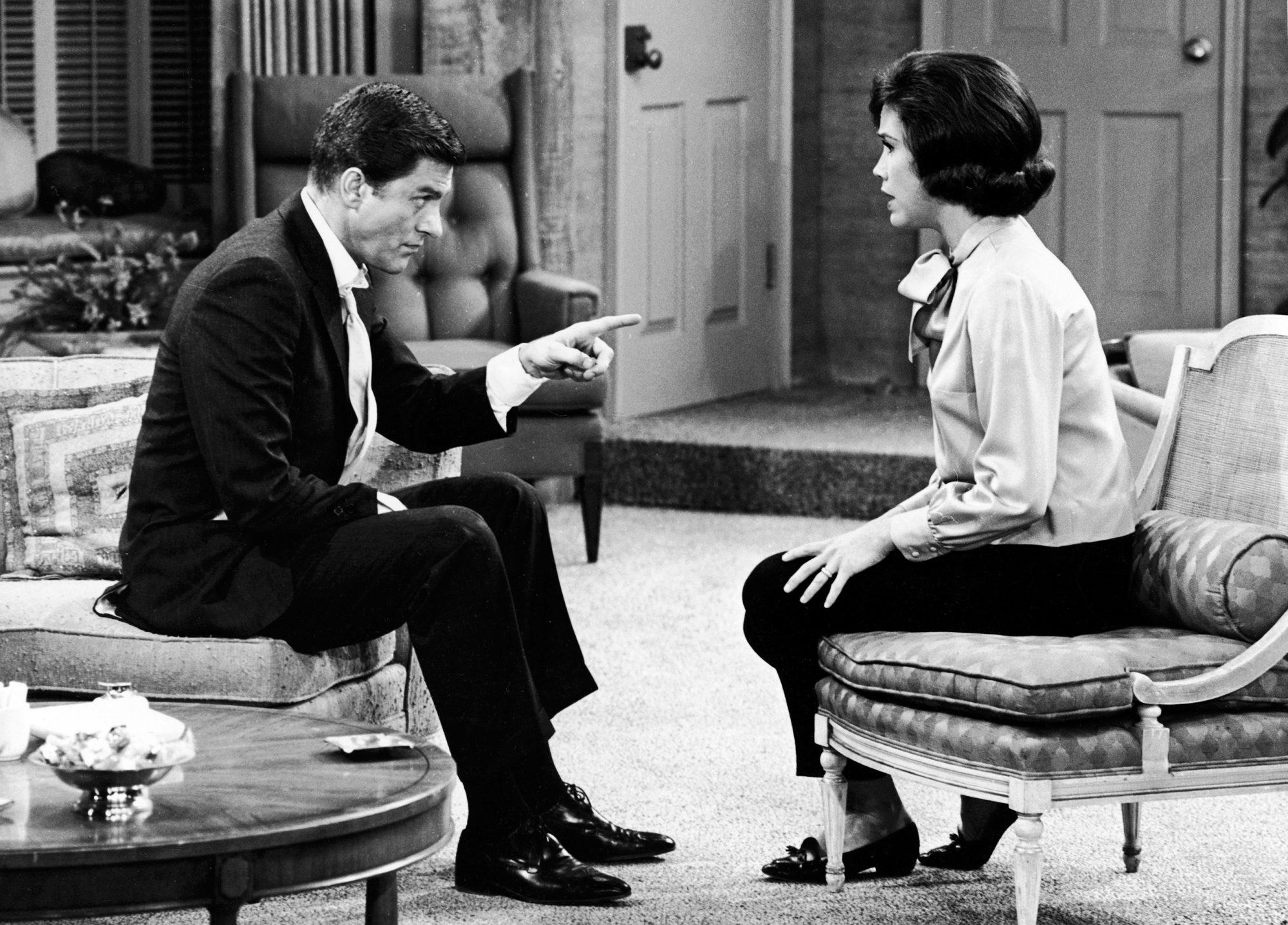 Van Dyke & Moore In 'The Dick Van Dyke Show'