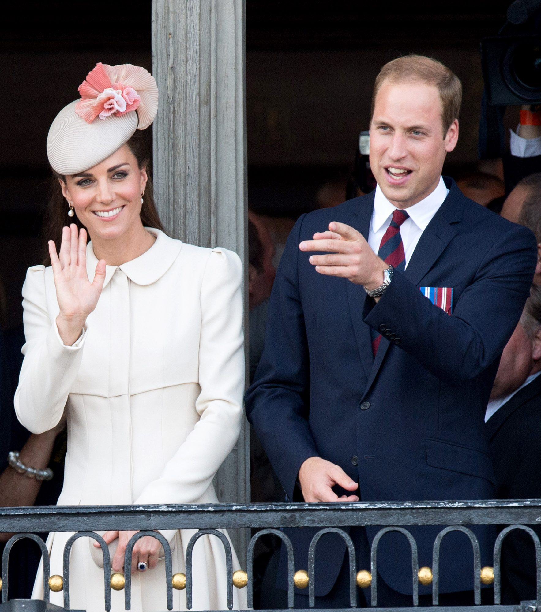 Duke & Duchess Of Cambridge And Prince Harry Attend Grand Place