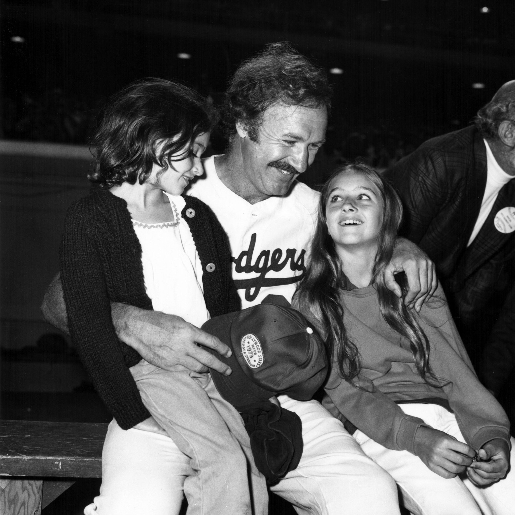 Gene Hackman And Daughters