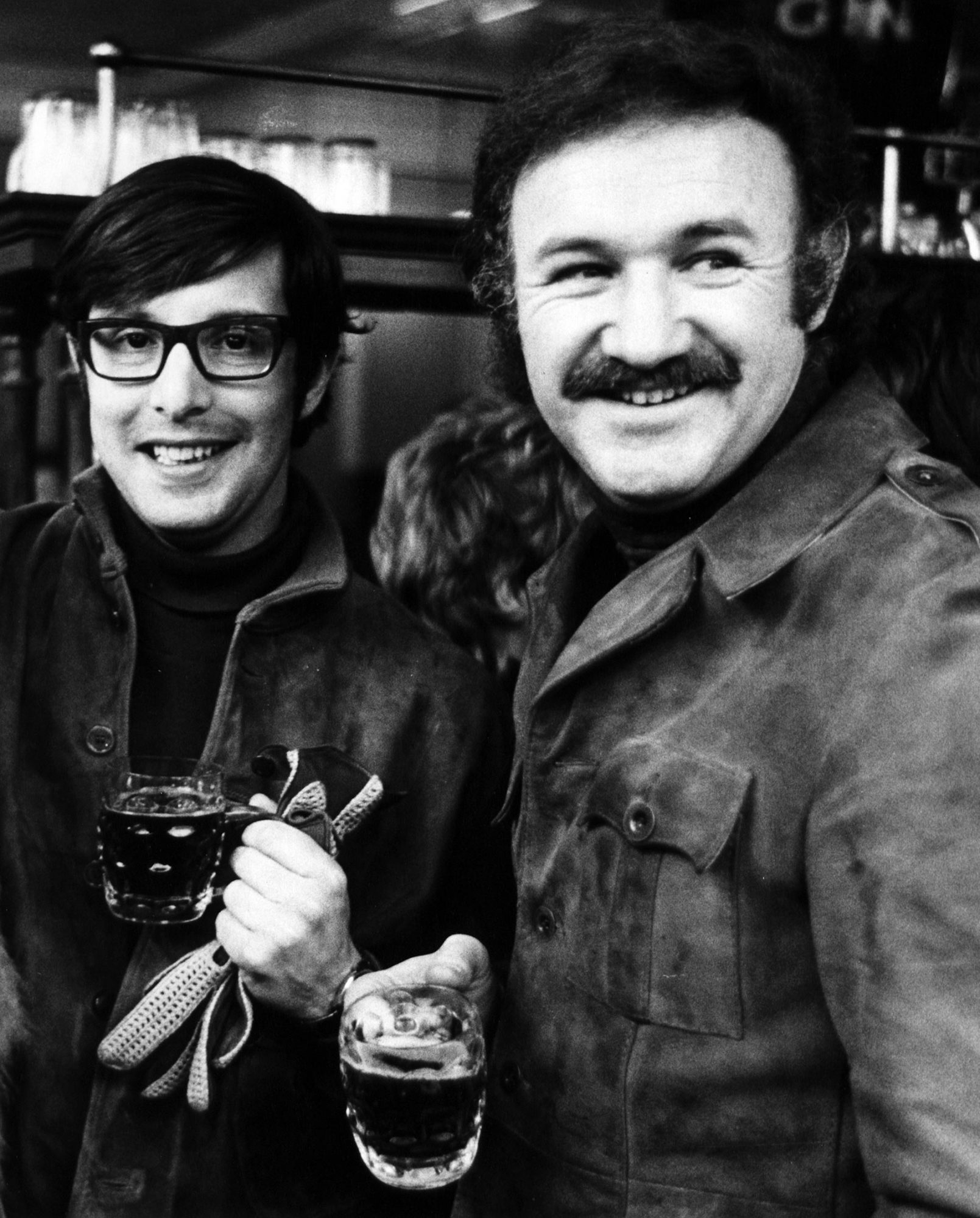 William Friedkin And Gene Hackman