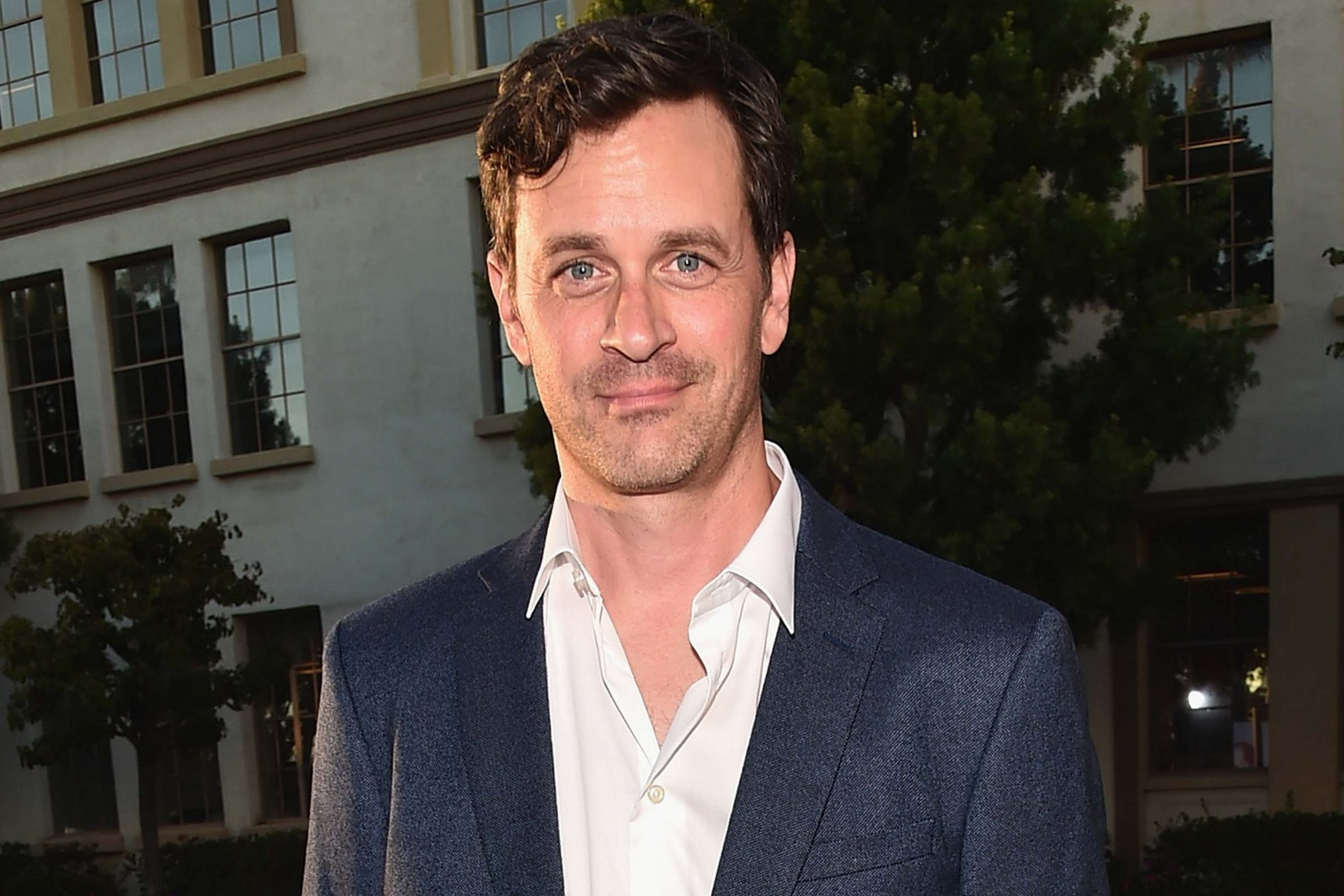 """598318902 HOLLYWOOD, CA - AUGUST 31: Actor Tom Everett Scott attends the premiere of Lifetime's """"Sister Cities"""" at Paramount Theatre on August 31, 2016 in Hollywood, California. (Photo by Alberto E. Rodriguez/Getty Images)"""