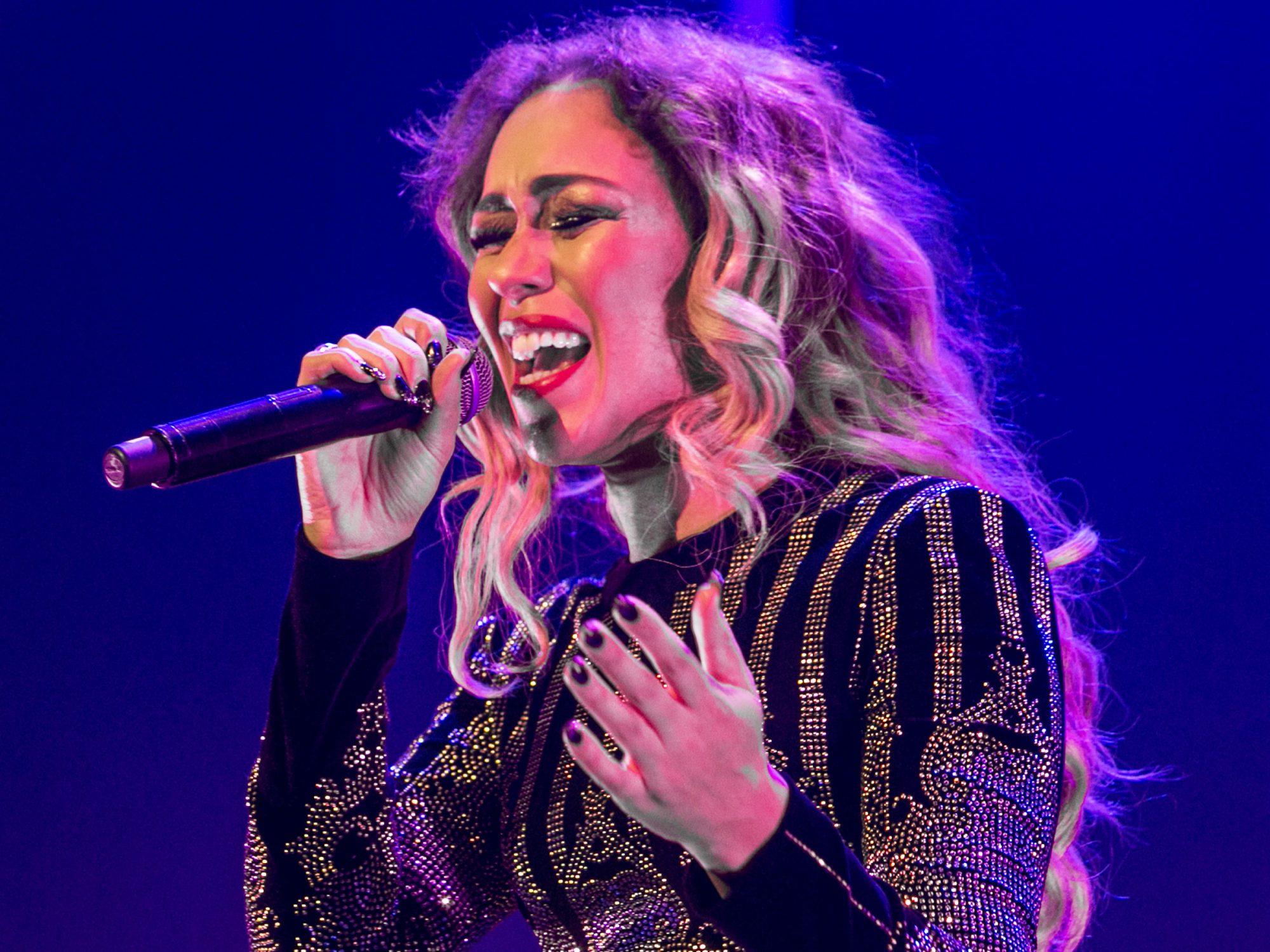Rebecca Ferguson Performs At St David's Hall, Cardiff
