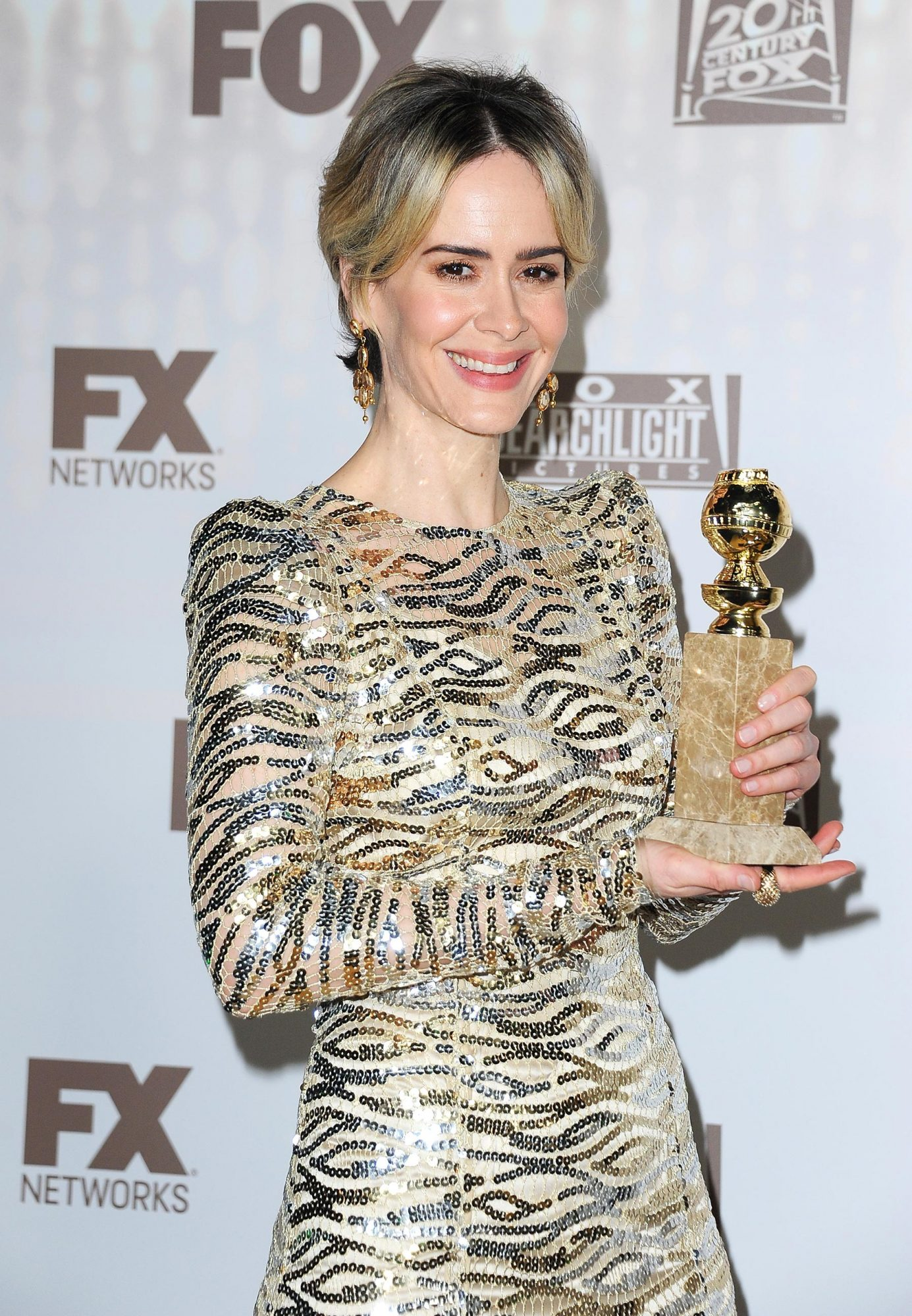 FOX And FX's 2017 Golden Globe Awards After Party - Red Carpet