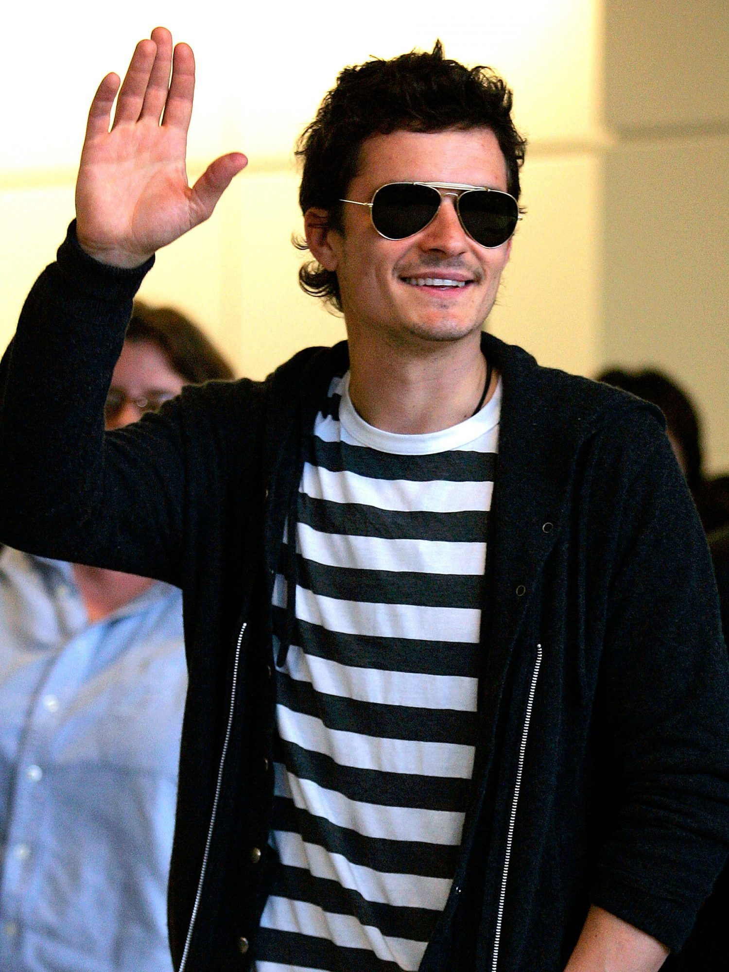 Johnny Depp And Orlando Bloom Arrive In Japan