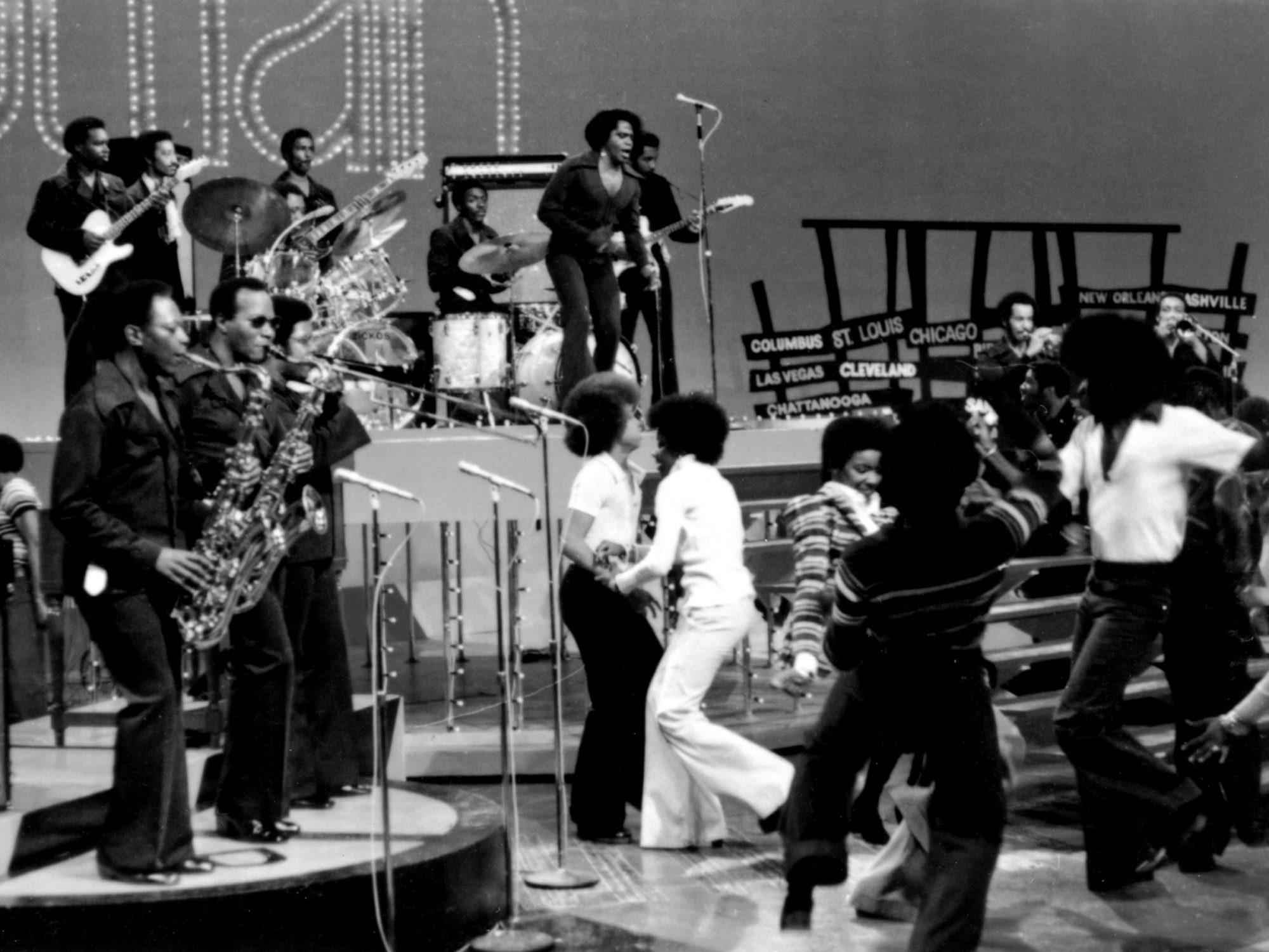 James Brown On Soul Train