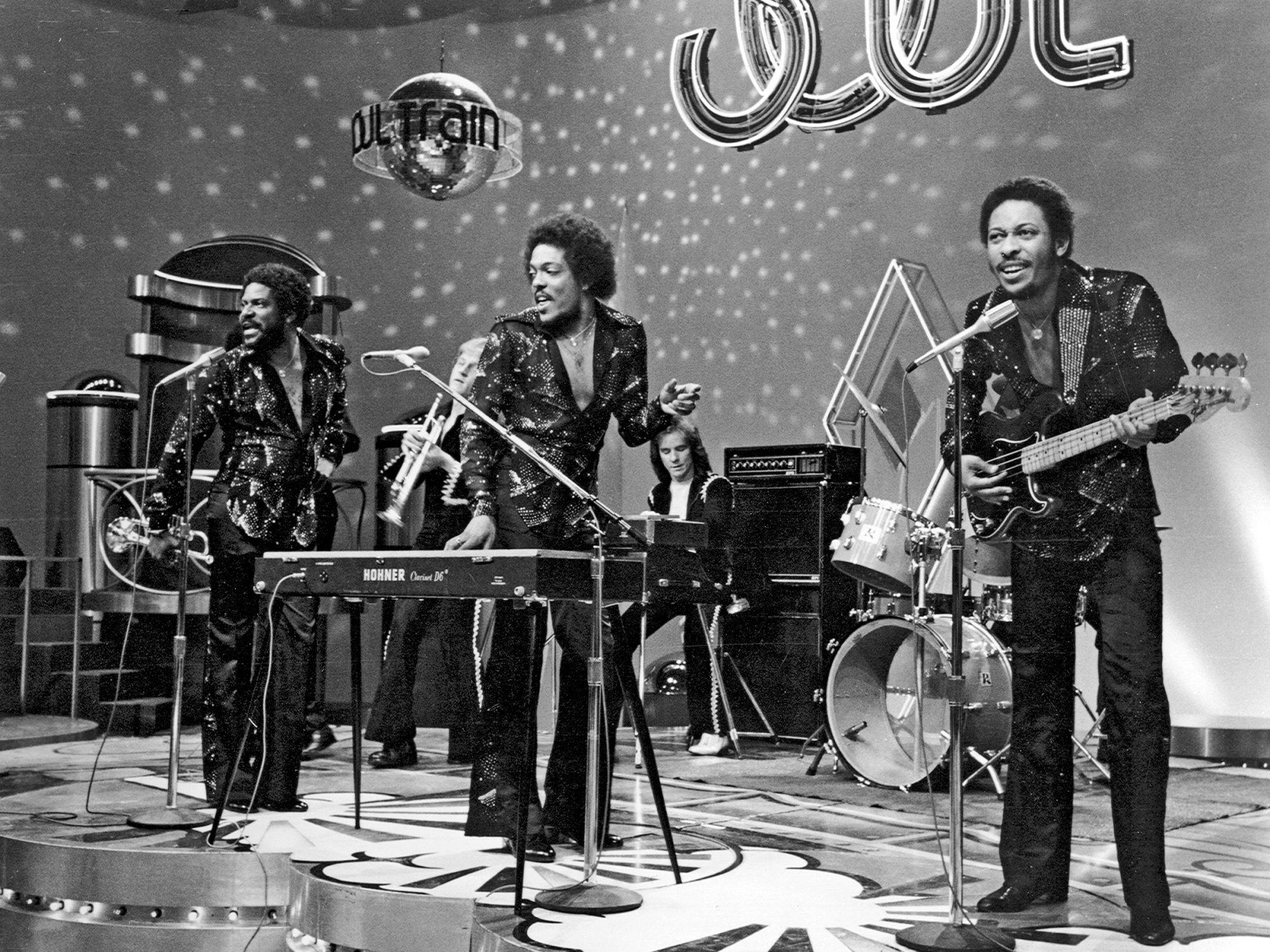 Gap Band On Soul Train