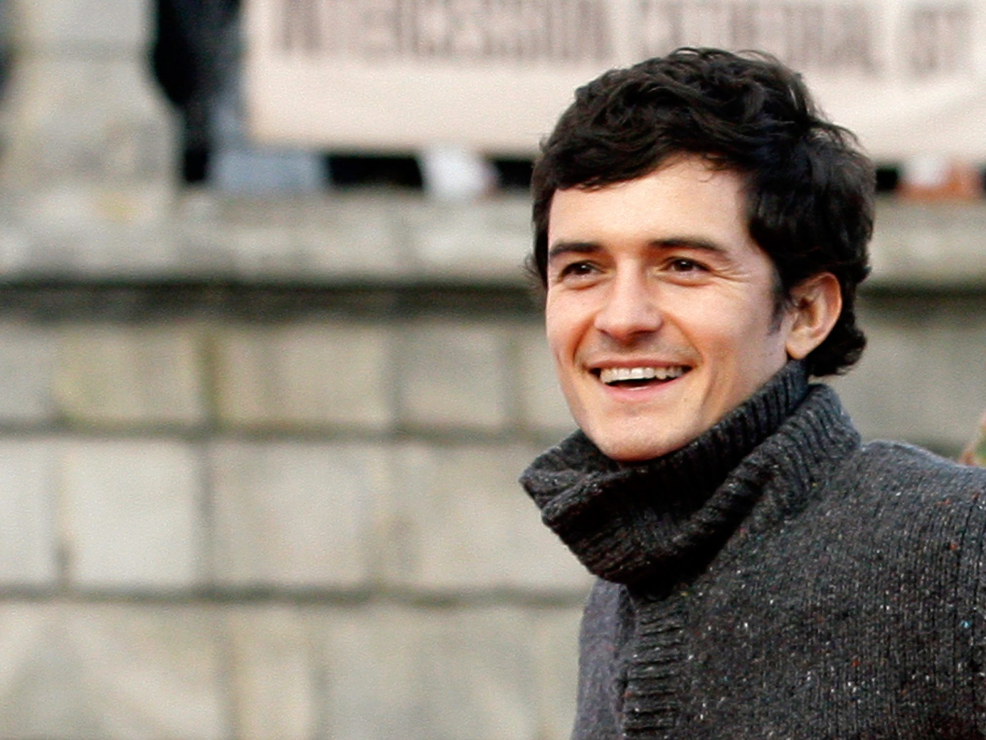 Orlando Bloom Attends Land Rover 60th Anniversary in Moscow