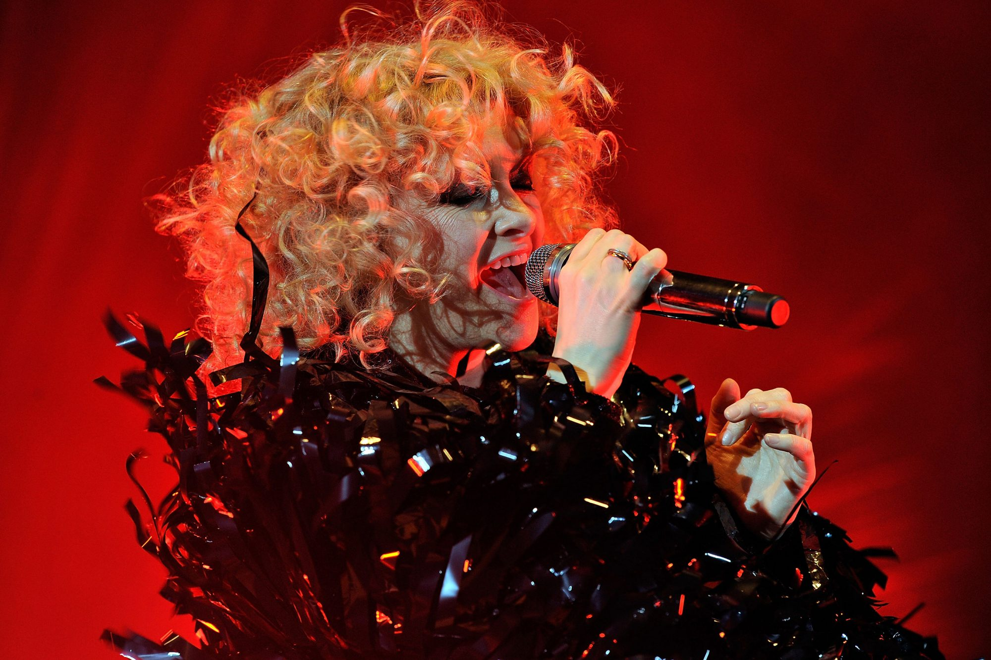 Goldfrapp Performs in London
