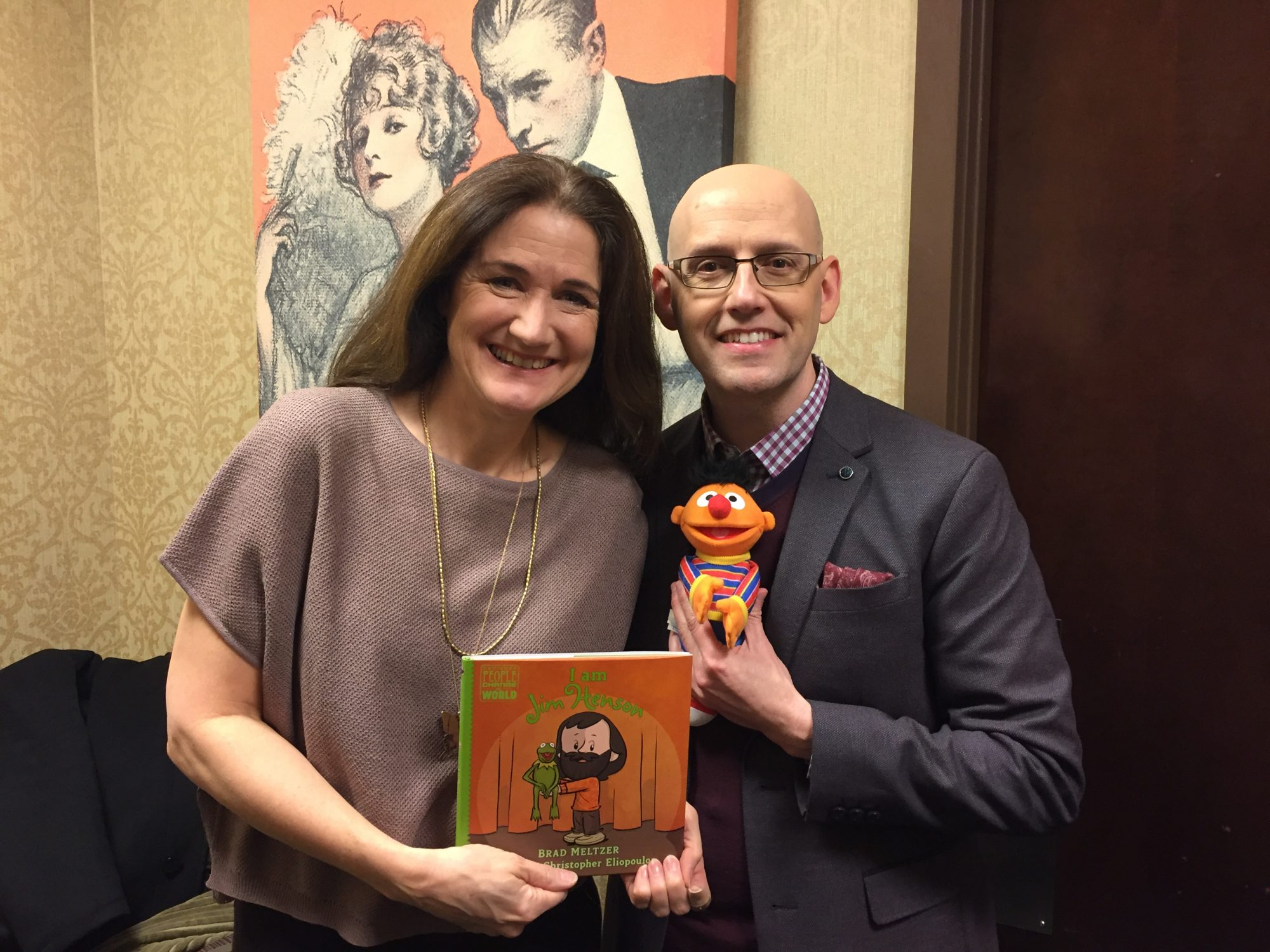 Cheryl Henson and Brad Meltzer