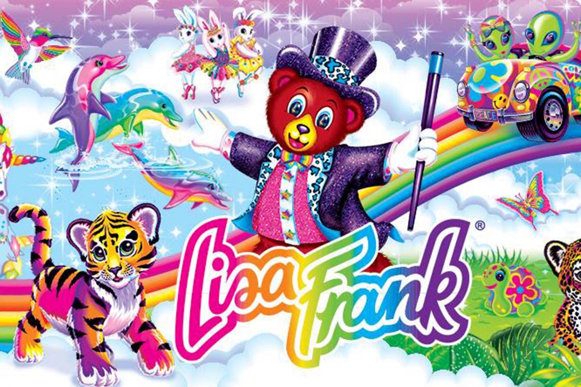 Lisa Frank Logo CR: Lisa Frank