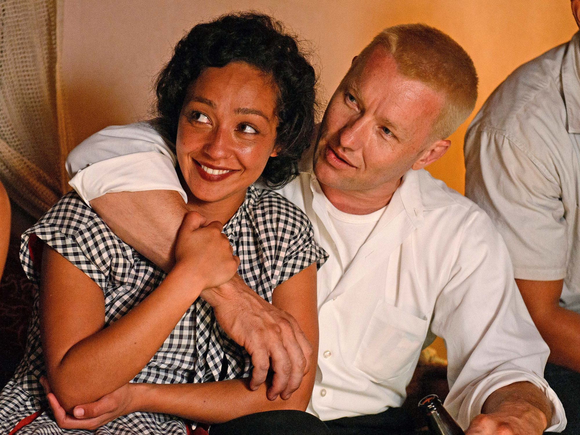 LOVING (2016)Ruth Negga (left) as Mildred and Joel Edgerton (right) as Richard