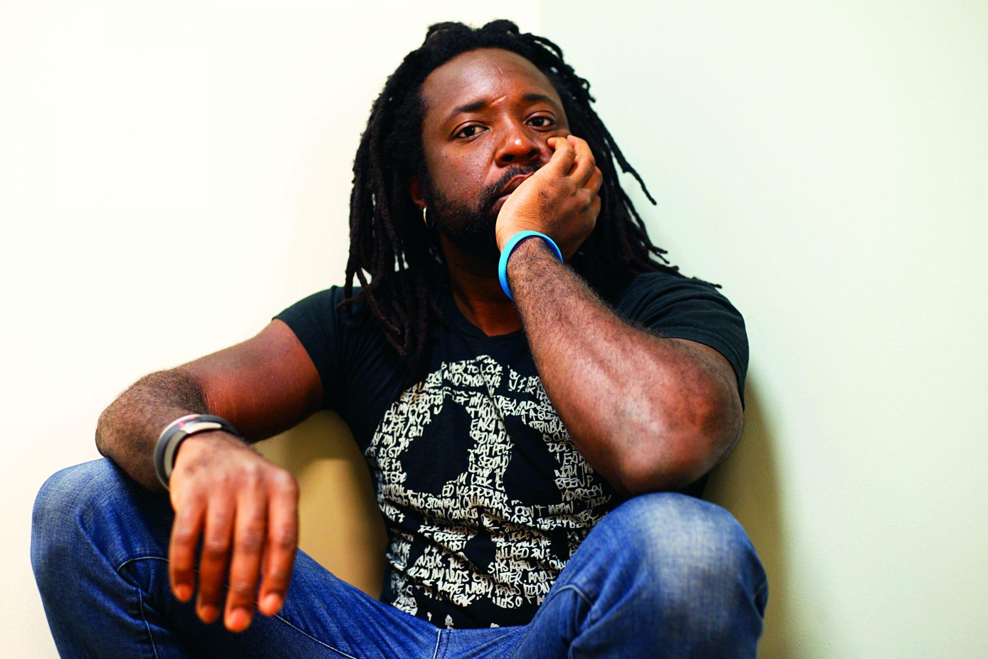 Marlon James author photo