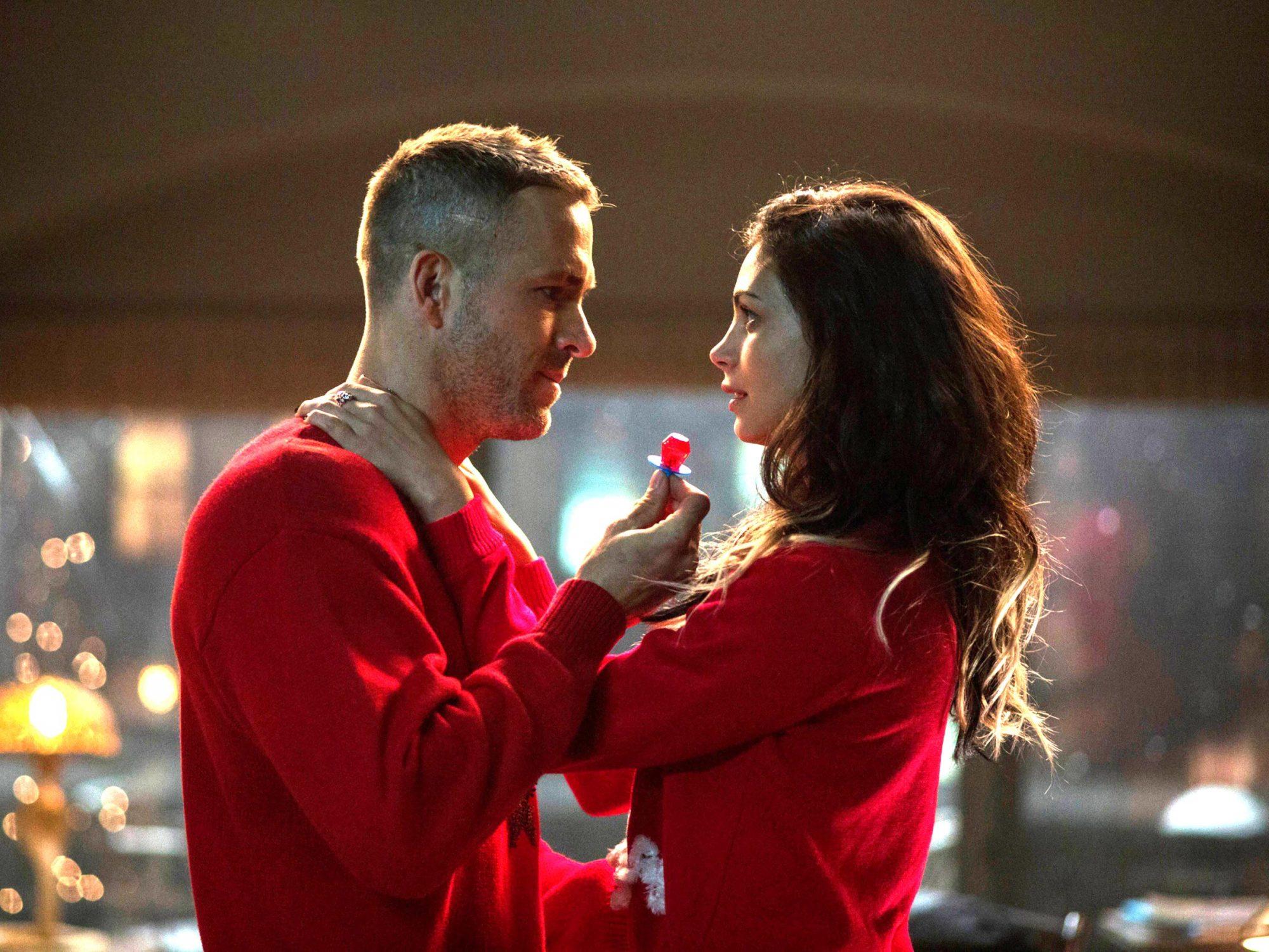DEADPOOL, from left: Ryan Reynolds, Morena Baccarin, 2016. TM & copyright © 20th Century Fox Film