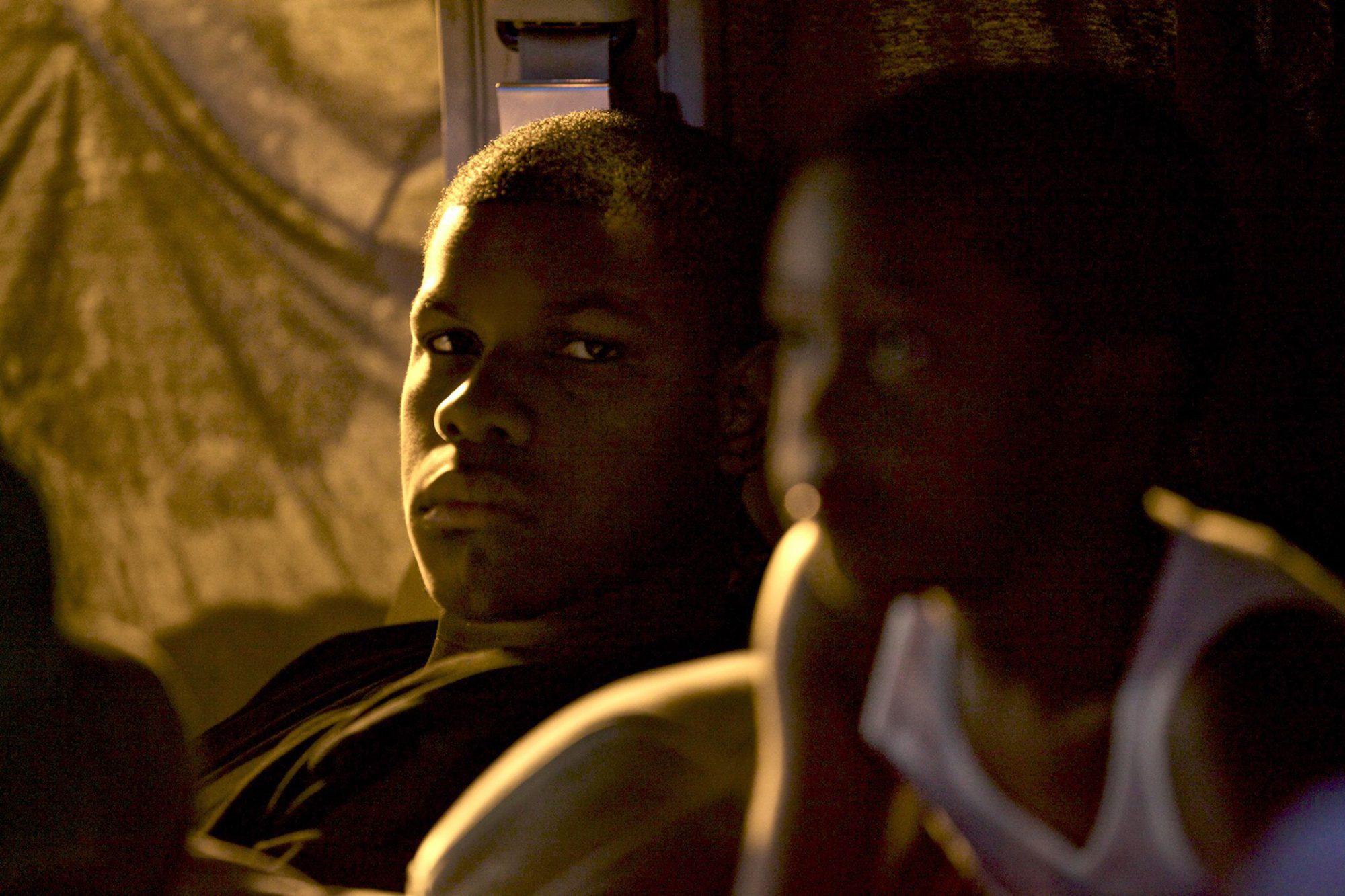 IMPERIAL DREAMS, left: John Boyega, 2014.