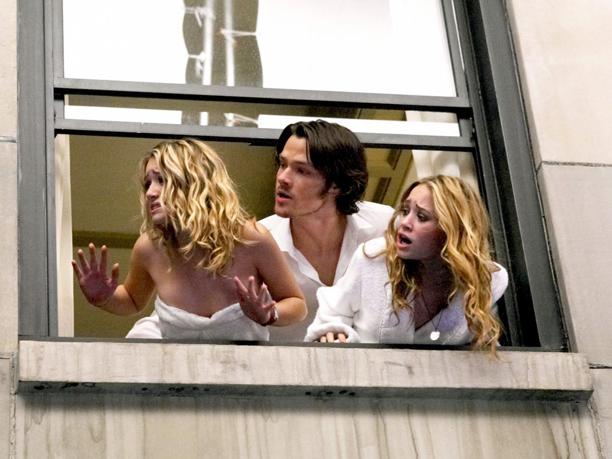 NEW YORK MINUTE, Mary-Kate Olsen, Jared Padalecki, Ashley Olsen, 2004, (c) Warner Brothers/courtesy