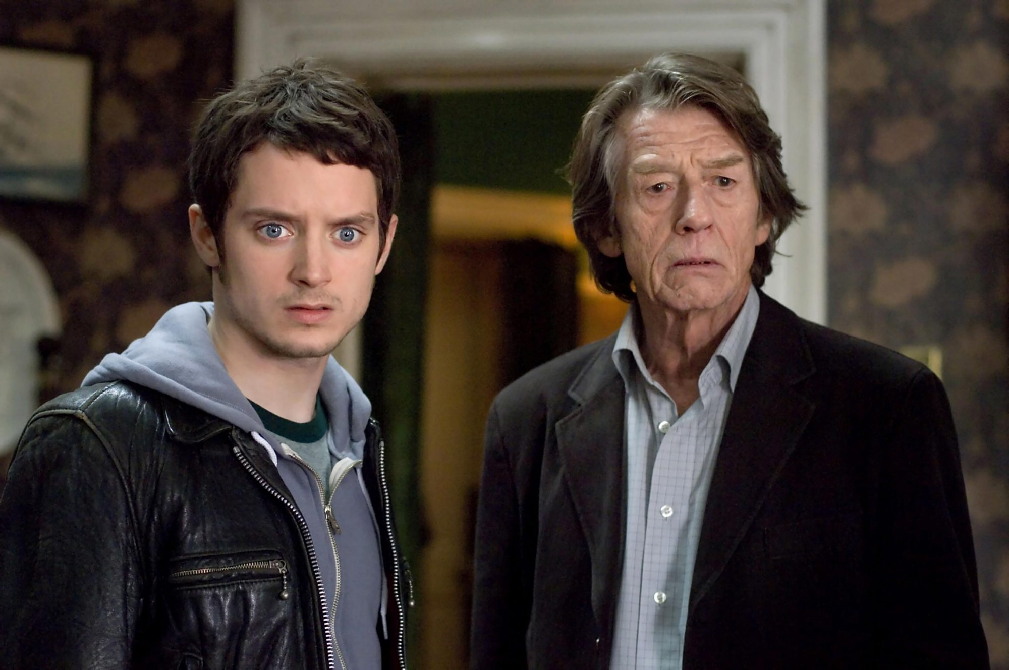THE OXFORD MURDERS, Elijah Wood, John Hurt, 2008. ©Think Film/courtesy Everett Collection