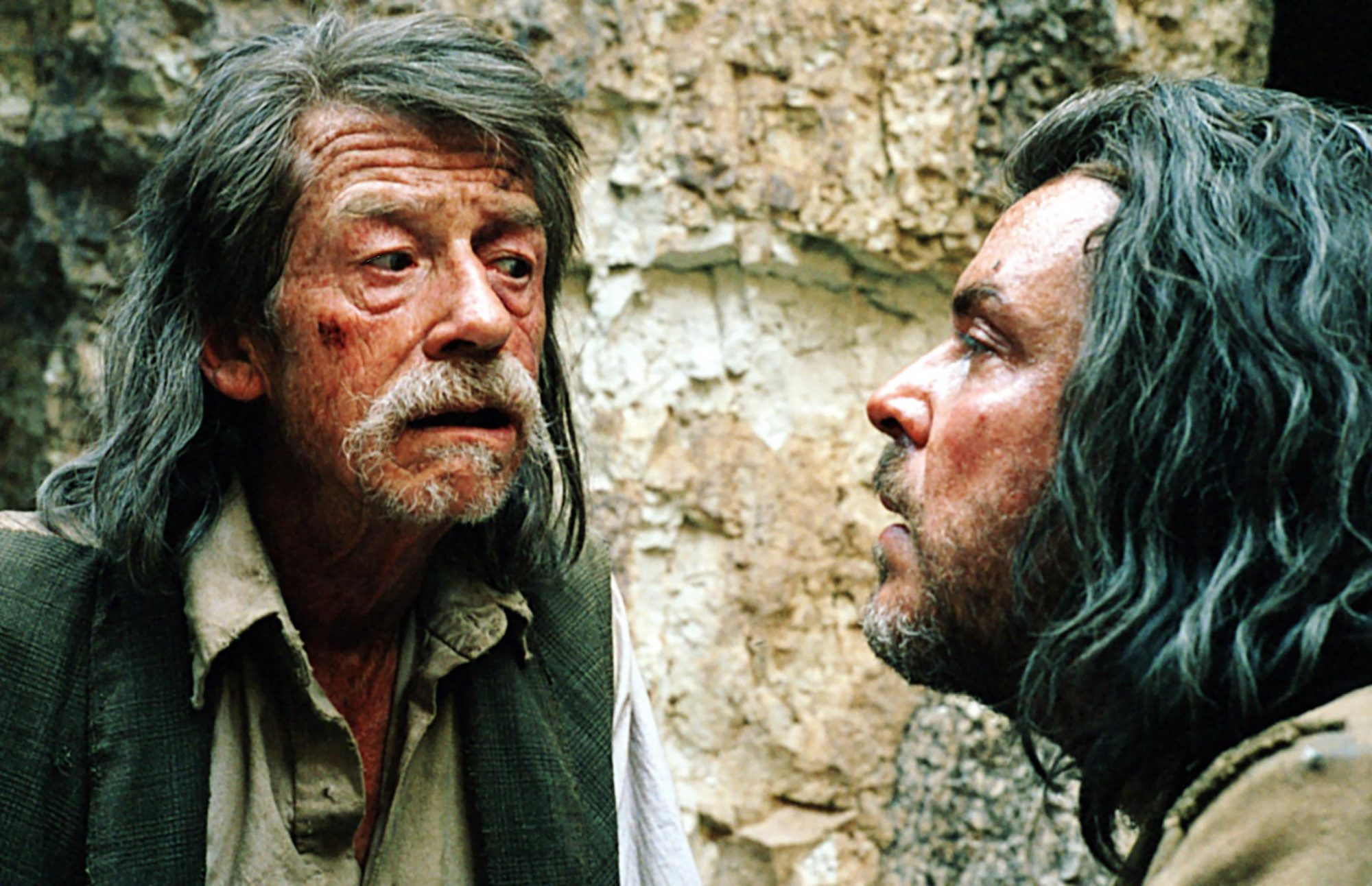 THE PROPOSITION, John Hurt, Danny Huston, 2005, ©First Look Features/Everett Collection