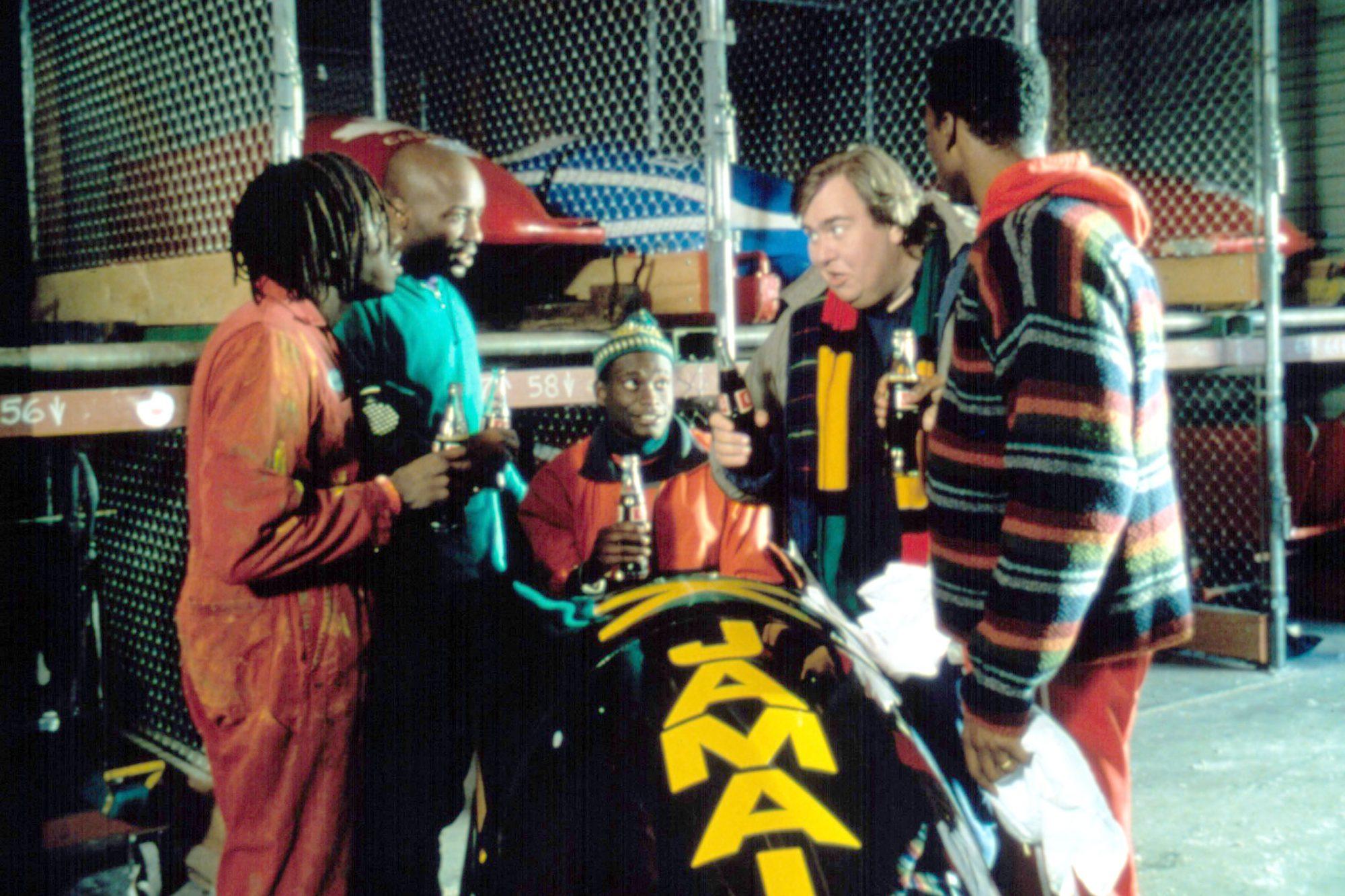 COOL RUNNINGS, Doug E. Doug, Malik Yoba, Rawle D. Lewis, John Candy, Leon, 1993