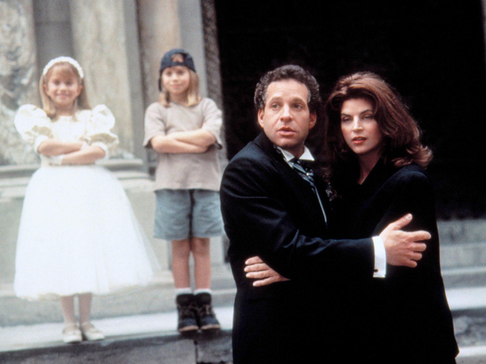 IT TAKES TWO, Ashley Olsen, Mary-Kate Olsen, Steve Guttenberg, Kirstie Alley, 1995. (c)Warner Bros./