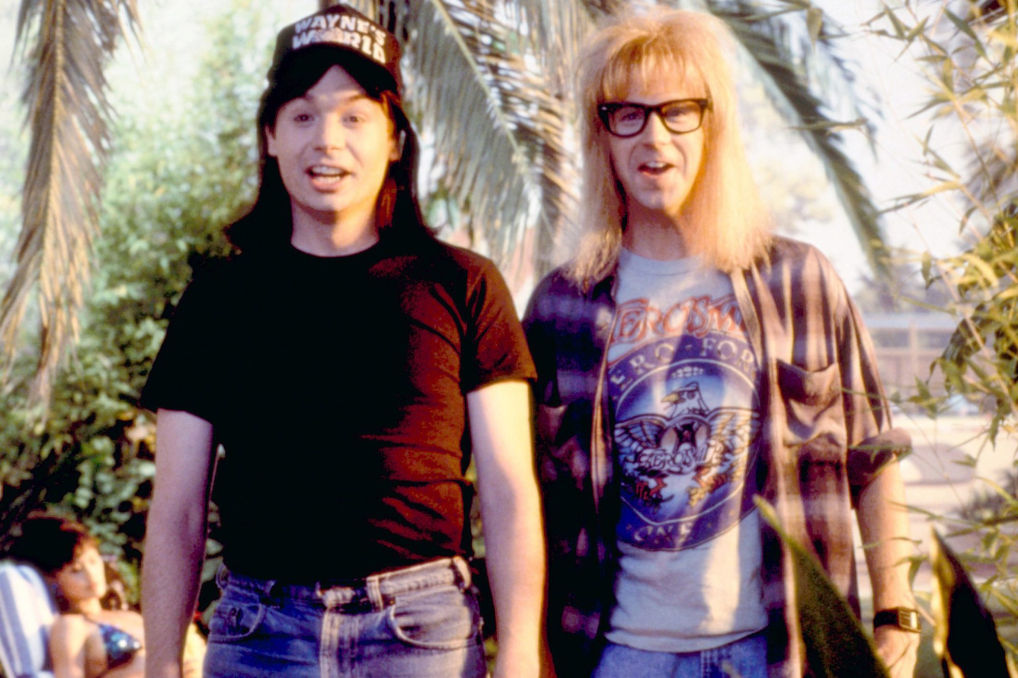 WAYNE'S WORLD, Mike Myers, Dana Carvey, 1992. ©Paramount/courtesy Everett Collection