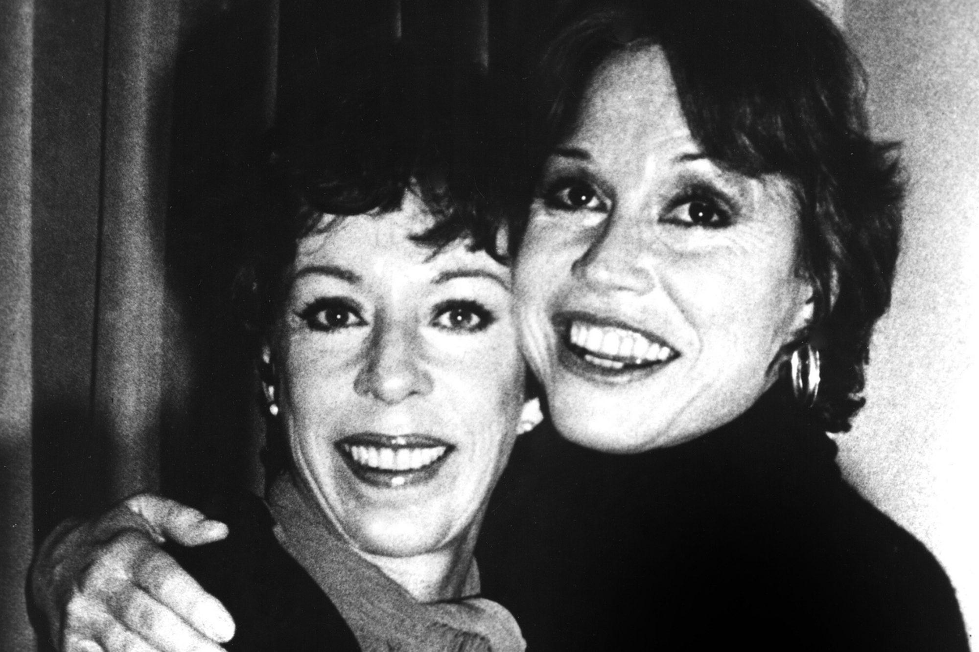 CAROL BURNETT, with Mary Tyler Moore