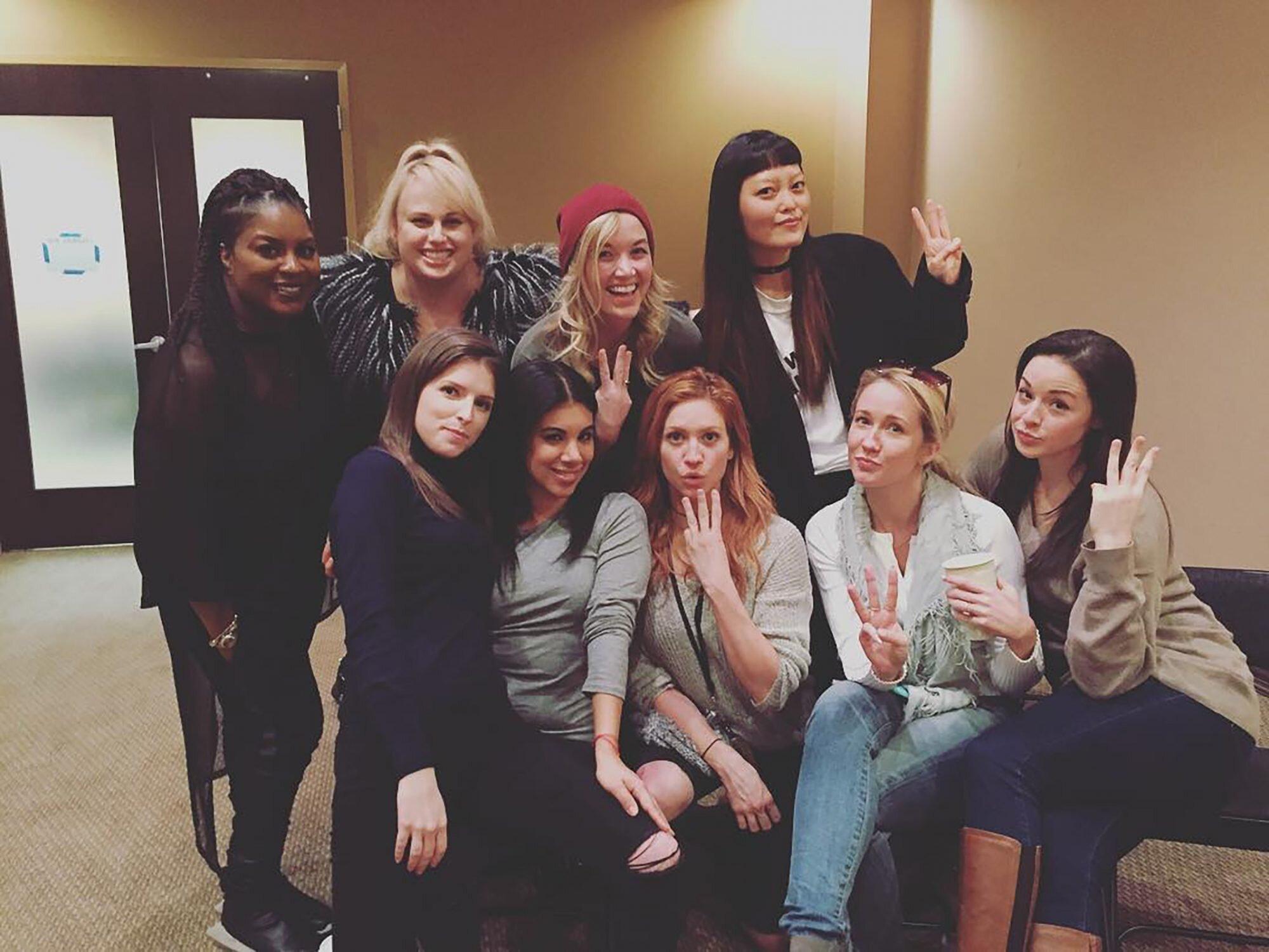 Pitch Perfect 3 Anna Kendrick Rebel Wilson Reunite With Bellas Ew Com